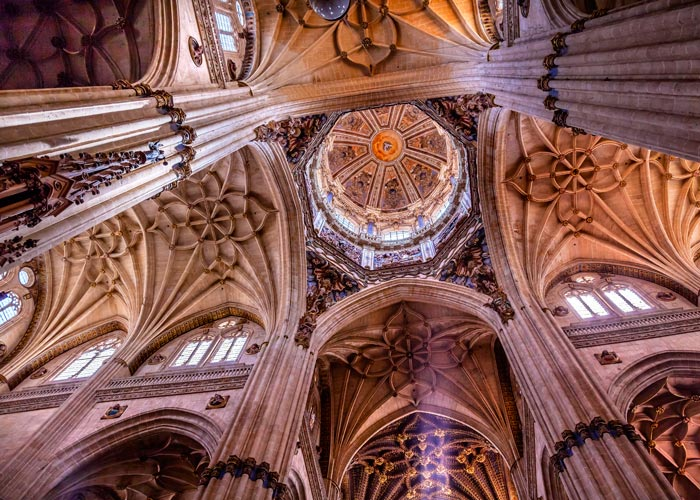Cimborrio de la Catedral Nueva de Salamanca