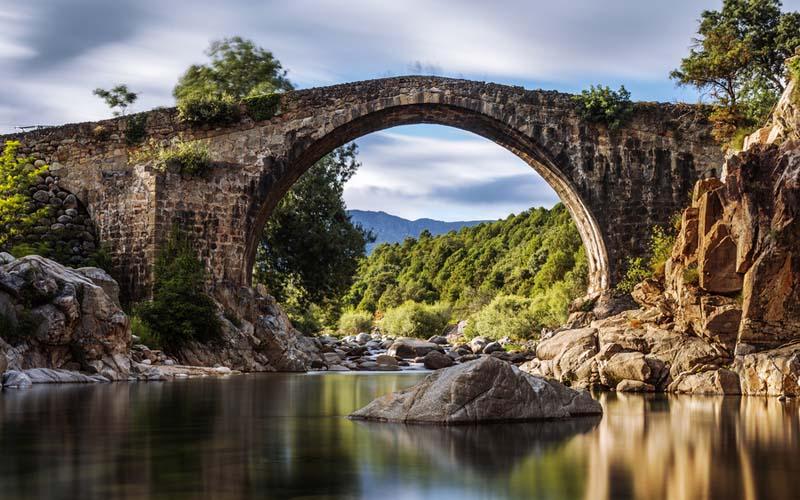 Imagen de puente en Ávila