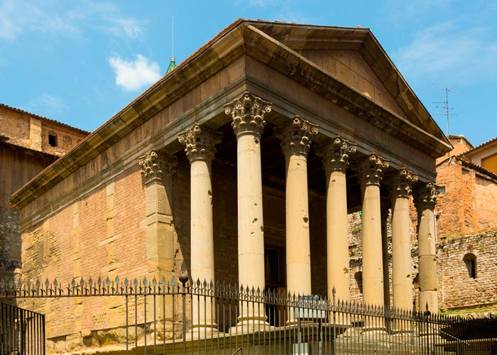 templo romano vic
