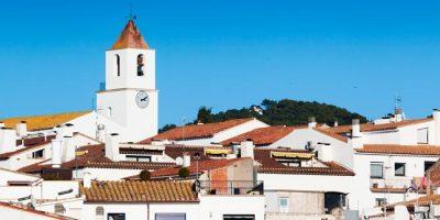 Vista de la Iglesia de Sant Pere de Calella