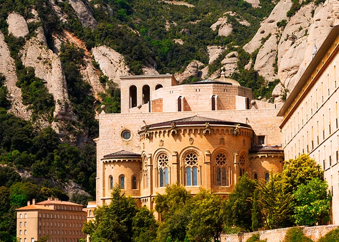 basilica monasterio monserrat