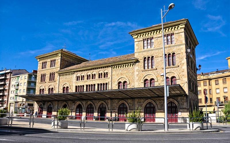 Estación de tren de Estella