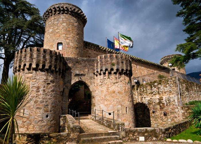 castillo jarandilla vera