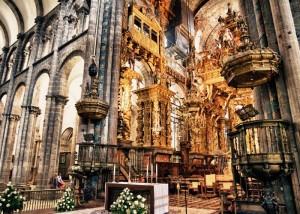 interior catedral santiago