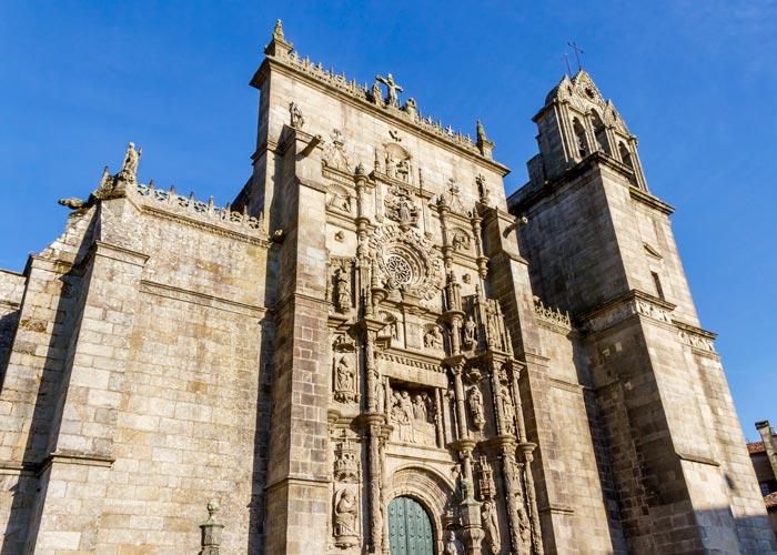 Basilica de Santa María la Mayor en Pontevedra capital