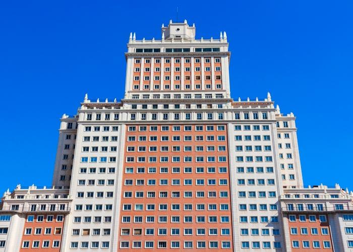 edificio espana madrid