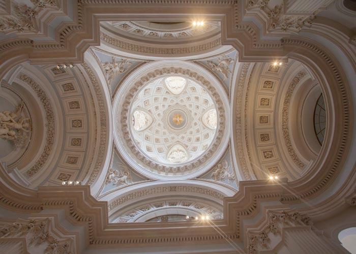 Boveda de la Capilla del Palacio Infante Don Luis