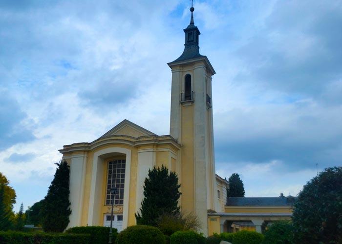 iglesia carmen el pardo