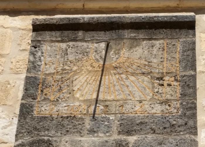 Reloj de Sol de la Iglesia de la Asunción de Loeches