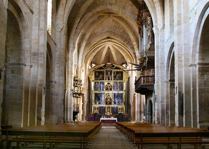 Románico en Navarra: Monasterio de Fitero