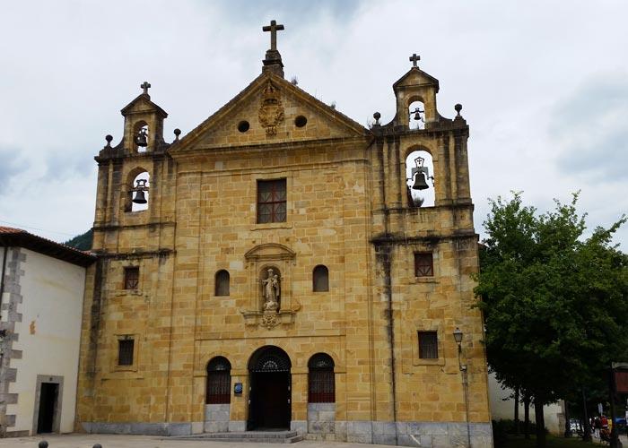 Convento Iglesia Carmen markina