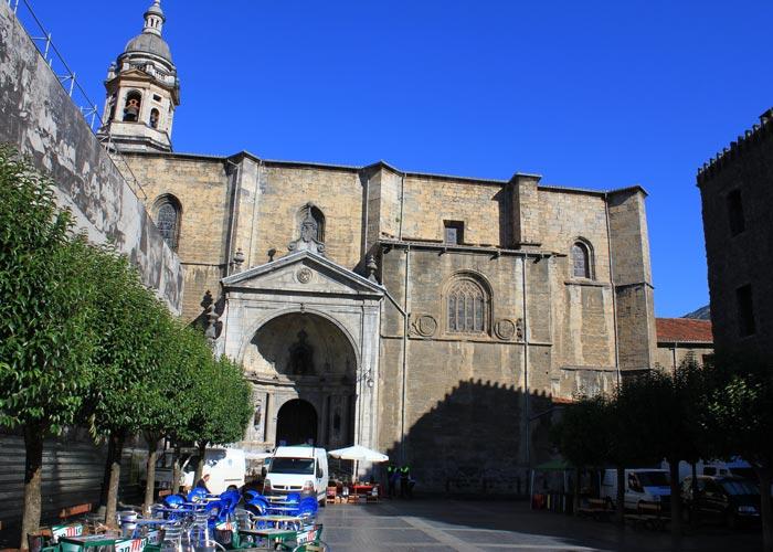 parroquia santa maria real azkoitia