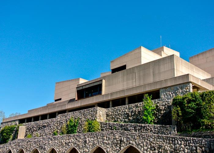 edificio moderno arantzazu