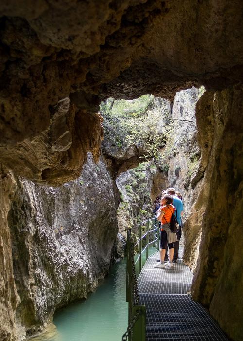 Ruta por el Cañón de los Arcos