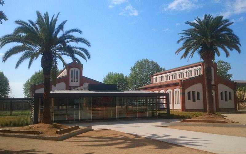Estación de Mataró que conecta con el túnel de Montgat