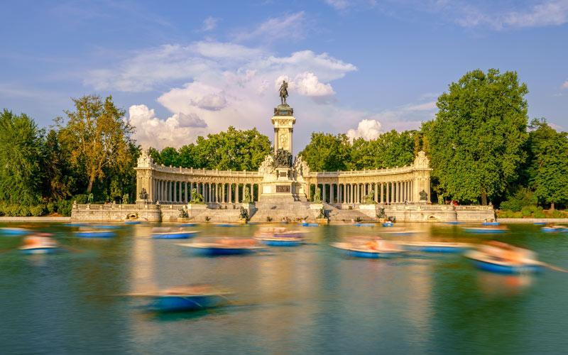 Monumento Alfonso XII Parque del Retiro