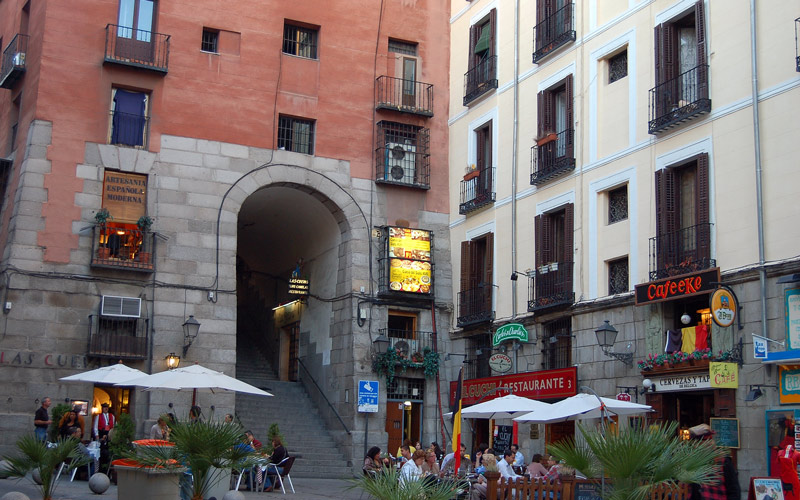 Arco de Cuchilleros de la Plaza Mayor
