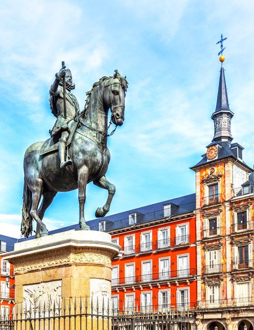 Estatua del Rey Felipe III