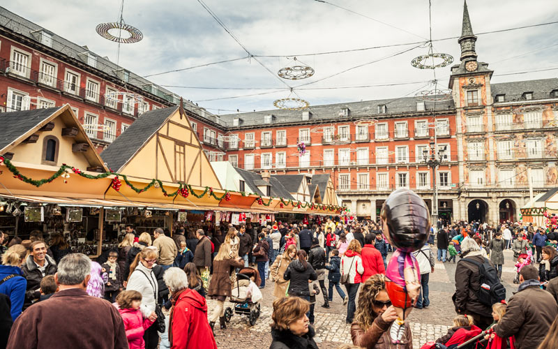 Mercadillo de Navidad en Plaza Mayor