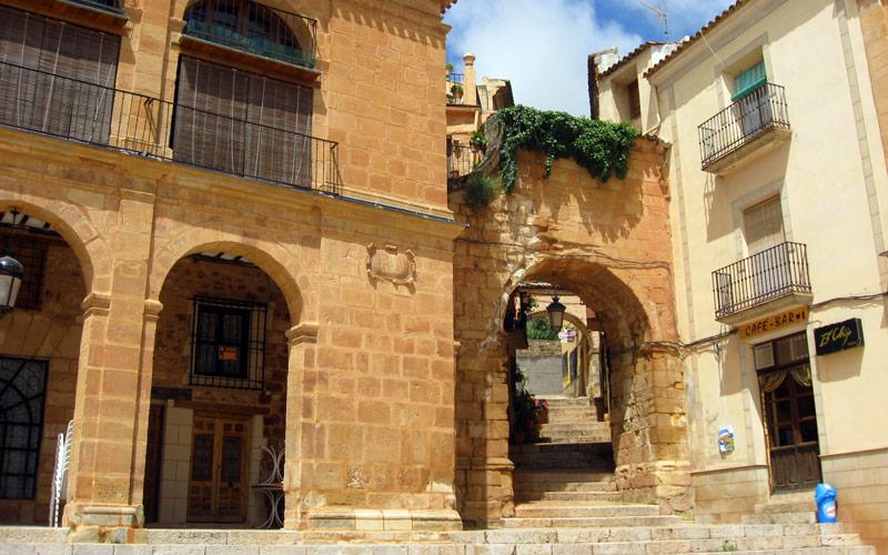 Plaza Mayor de alcaraz