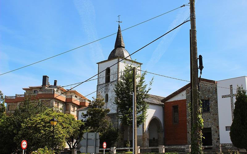 Parroquia de San Miguel de Mohices, en La Caridad | Fuente Carmenmoran