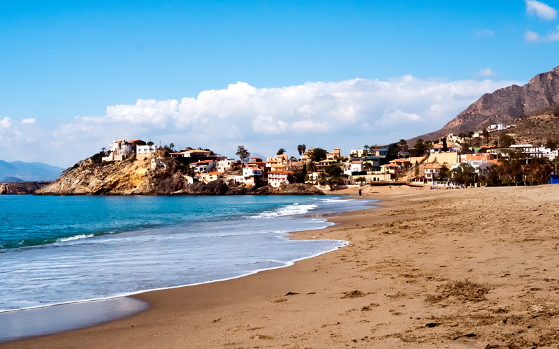 Vistas del pueblo de Bolnuevo, Mazarrón | Shutterstock