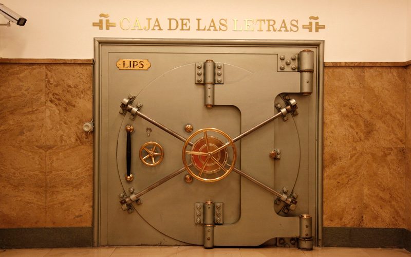 Caja de las Letras del Instituto Cervantes