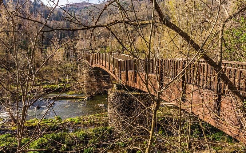 Puente sobre el río Fluvià | Shutterstock