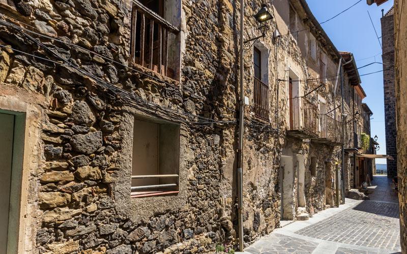 Calles de Castellfollit de la Roca