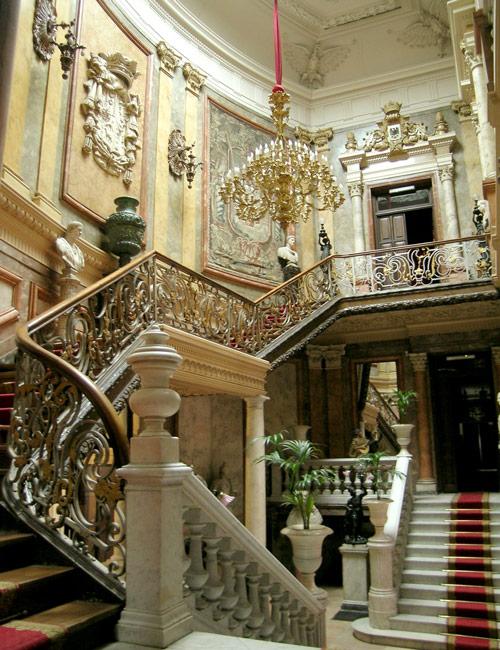 Escalera de Honor en el Museo Cerralbo