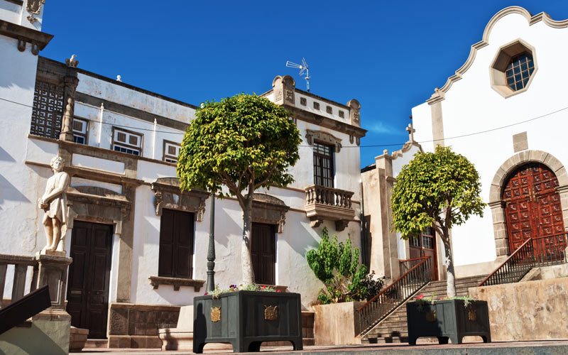 Iglesia de San Agustín en Icod de los Vinos | Shutterstock