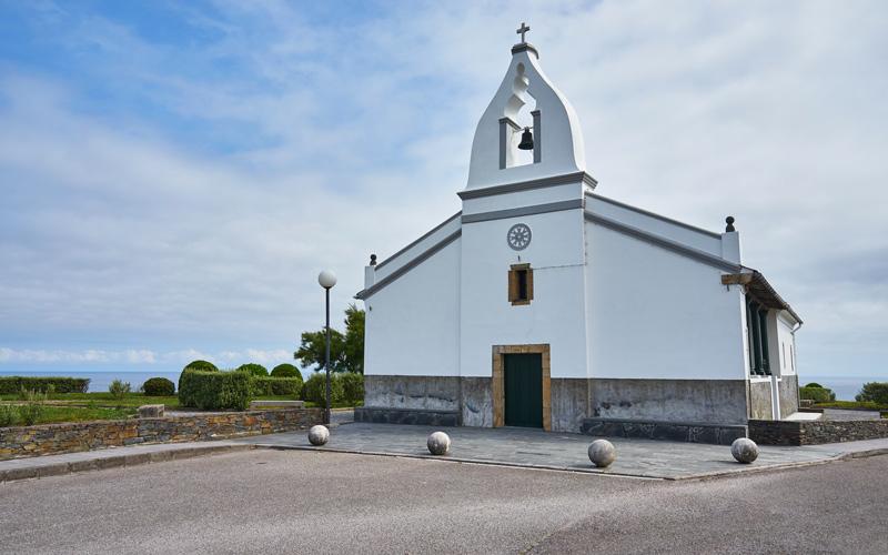 Ermita de San Agustín, Ortiguera