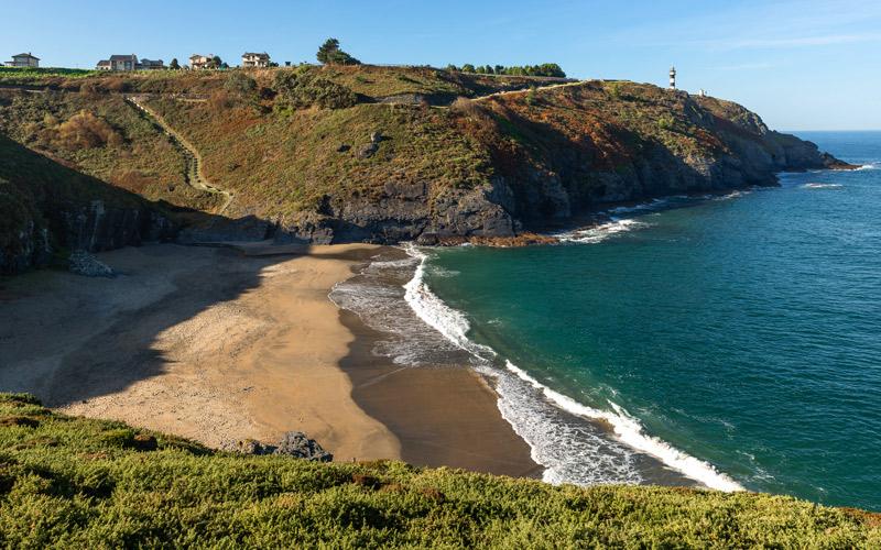 Playa de Arnelles, Ortiguera