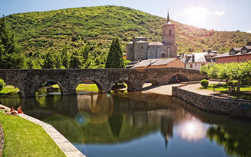 Pueblos más bonitos de Castilla y León: Molinaseca