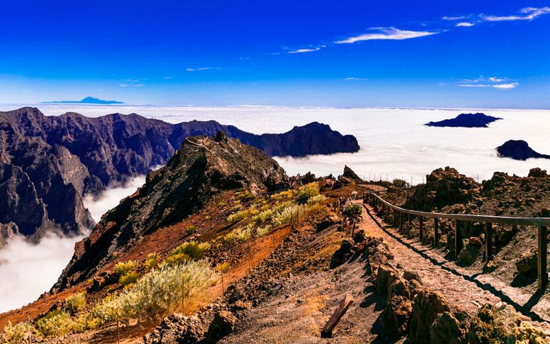 Roque de los Muchachos en La Palma