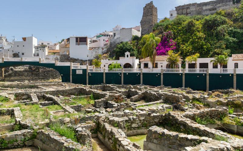 Yacimiento arqueológico de la factoría de salazón romana en Almuñécar