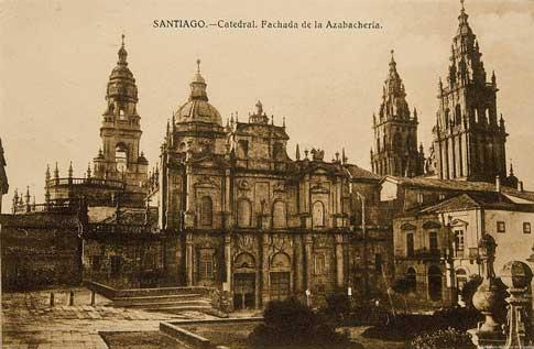 imagen antigua santiago compostela
