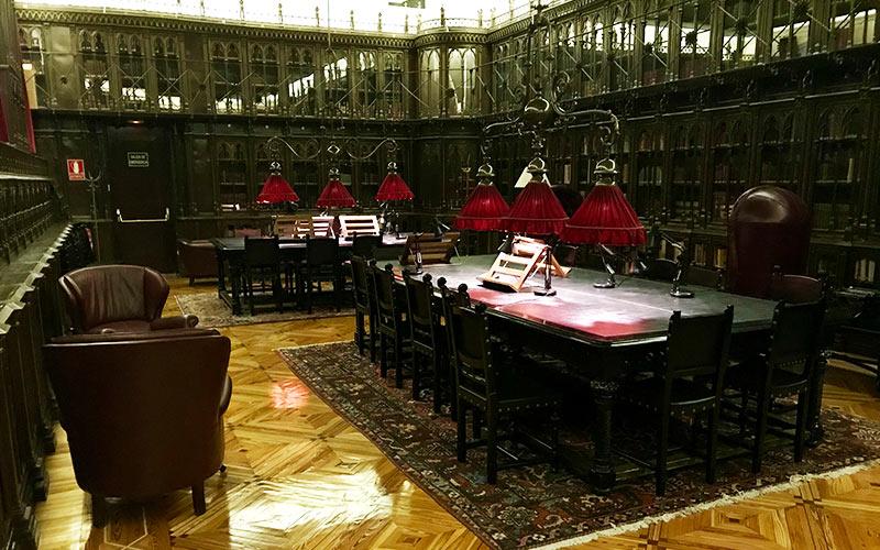 Bibliotecas más bonitas de Madrid