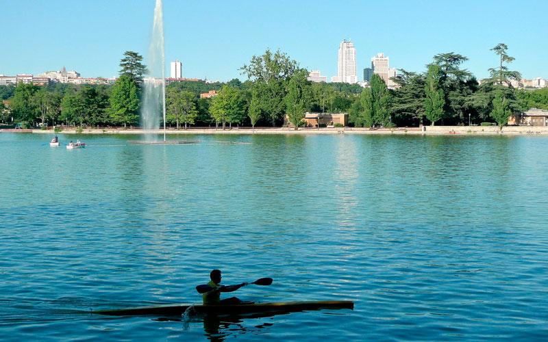 Madrid antiguo: El lago actualmente