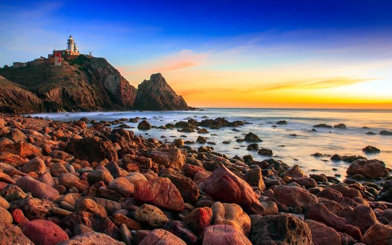 costa de España: costa de Almeria