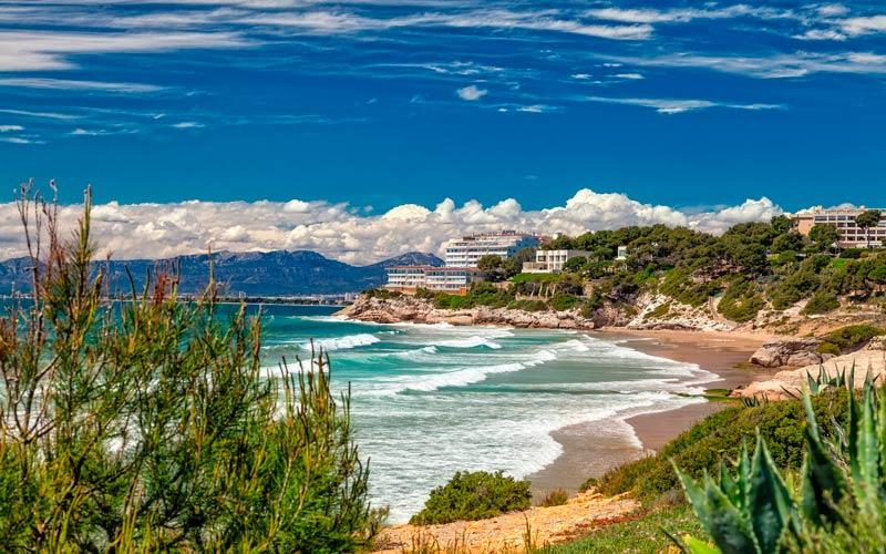 costa de España: costa dorada