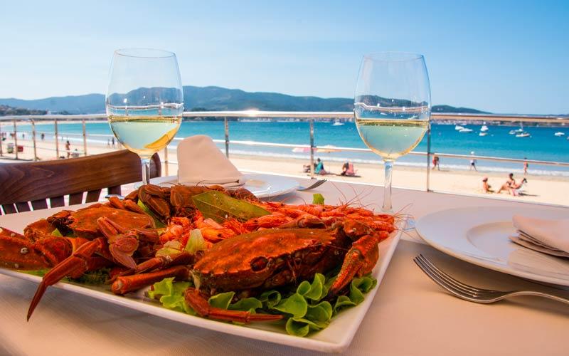 costa de España: costa gallega