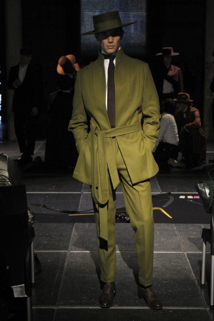 moda Oteyza capa verde