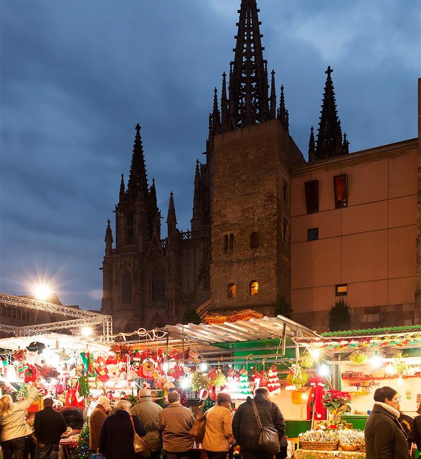 Mercados de navidad en los que disfrutar espa a fascinante - Mercado de navidad en madrid ...