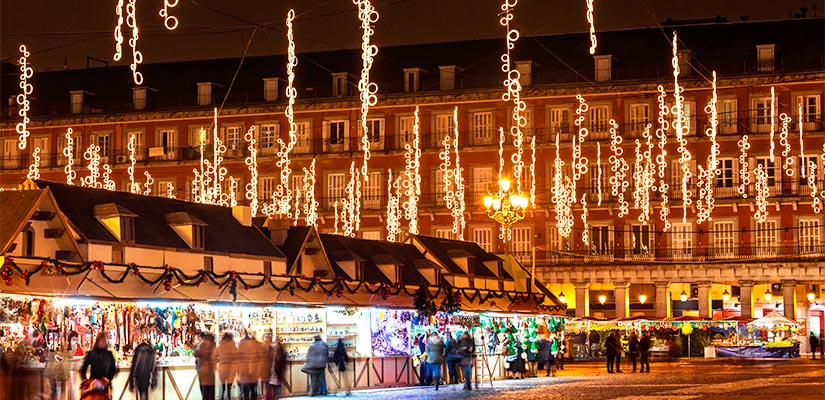 Mercados de navidad en los que disfrutar espa a fascinante - Mercado de navidad madrid ...