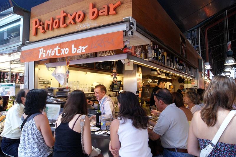 Pinotxo mercado Boqueria Barcelona
