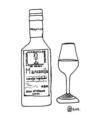 vino jerez manzanilla sanlucar