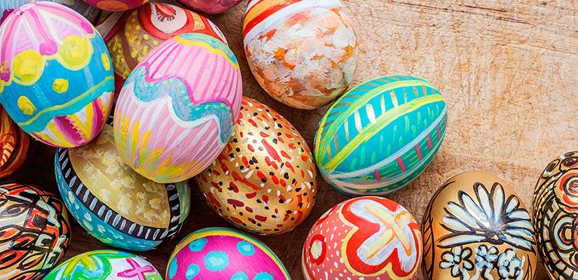 dulces semana santa huevos pascua