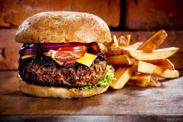 hamburguesa jamon serrano