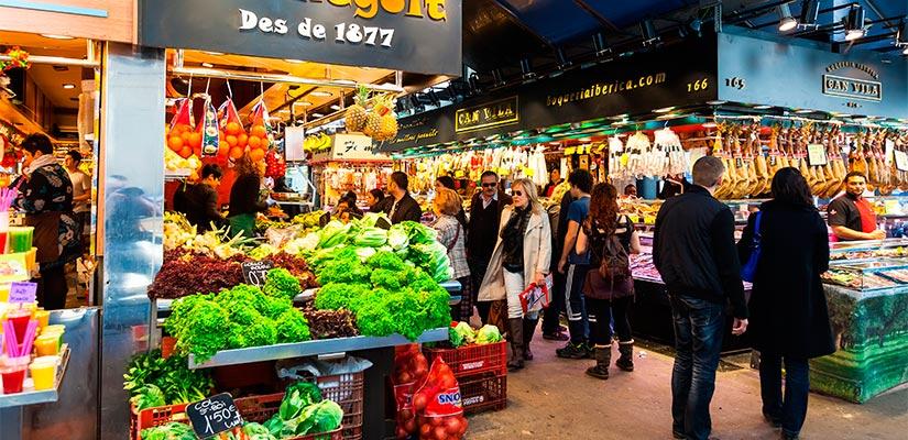 mercados barcelona boqueria